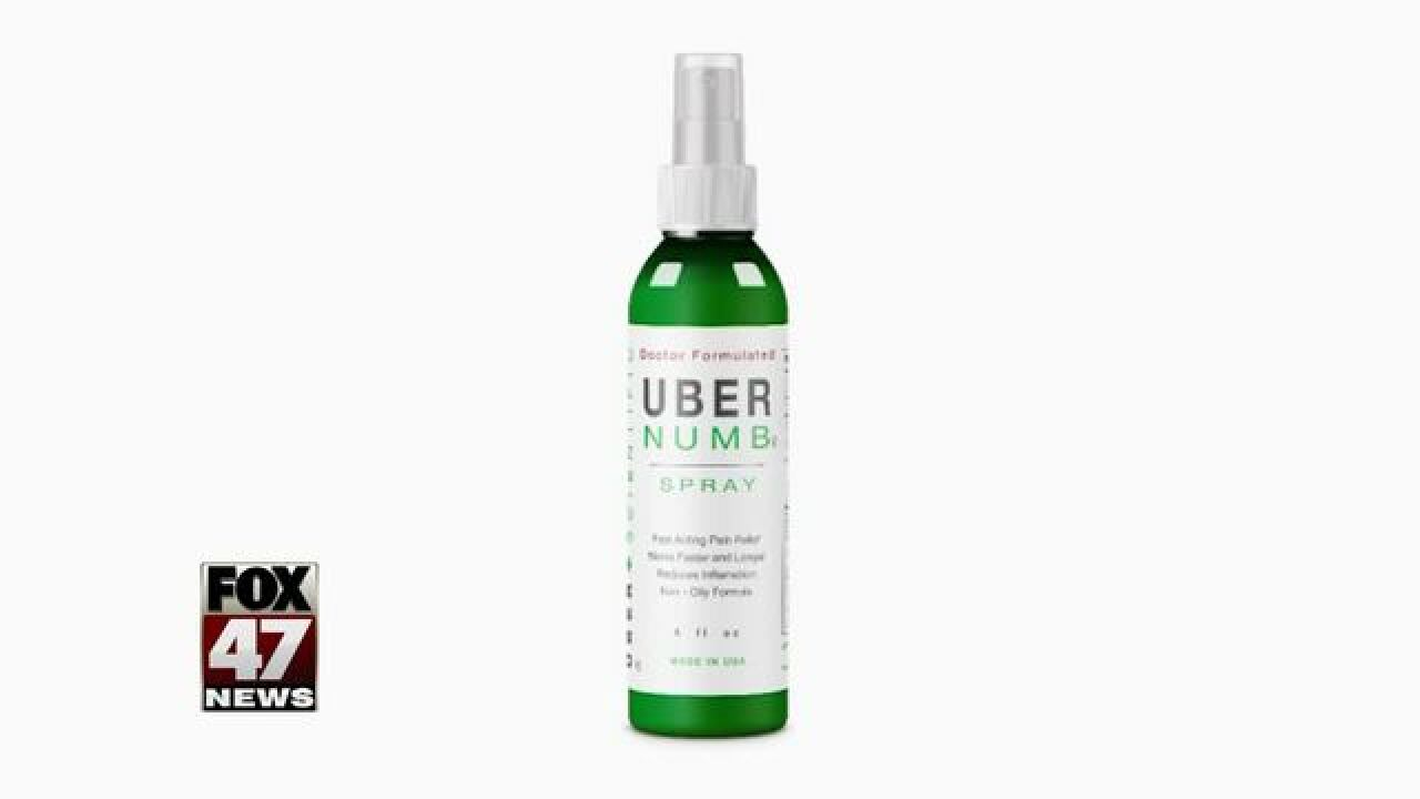 RECALL: Uber Numb pain medicine