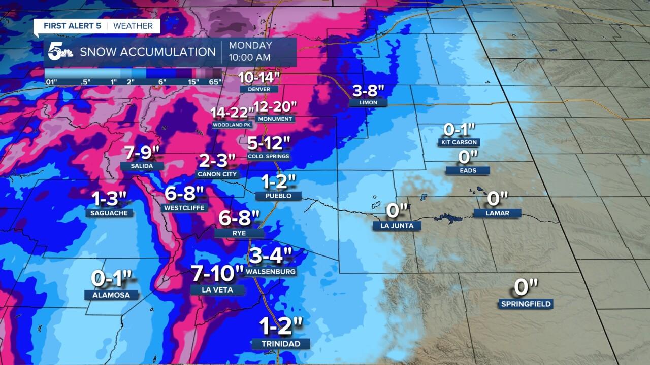 dma snow forecast