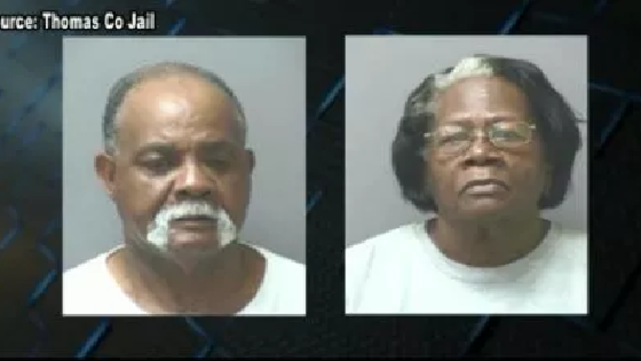 Thomas Co. couple arrested by GBI in elderly exploitation case