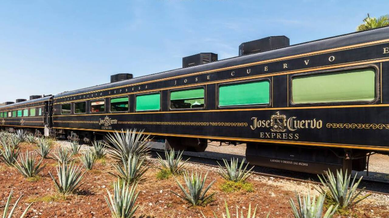 Mexico introduces all-you-can-drink tequila train called 'Jose Cuervo Express'