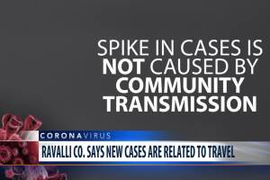 Ravalli County says new COVID-19 cases related to travel