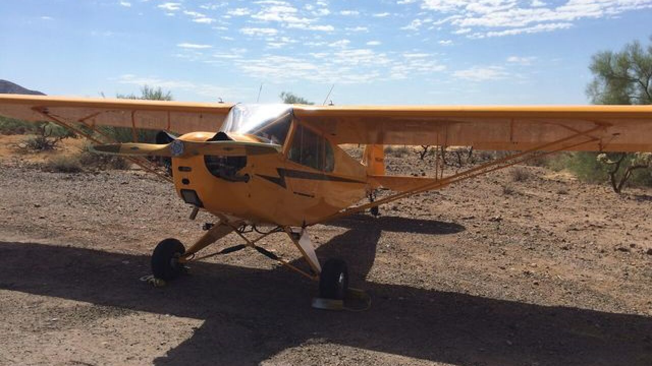 FD: Plane makes emergency landing near Anthem