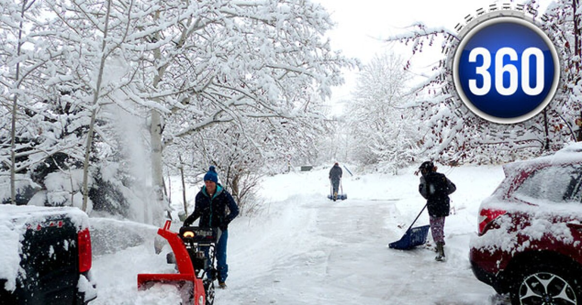 There's more to shoveling snow than meets the sidewalk