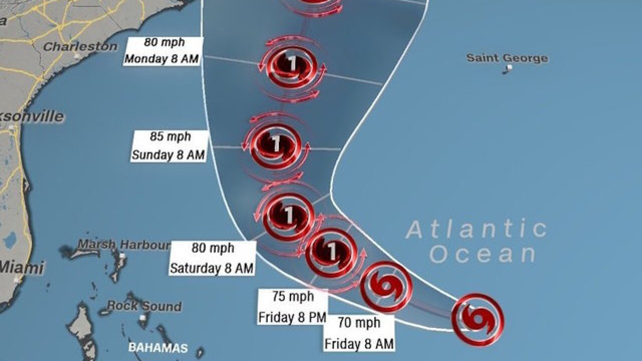 Tropical Storm Jose's path shifts west toward US: Maryland, Outer Banks could be hit