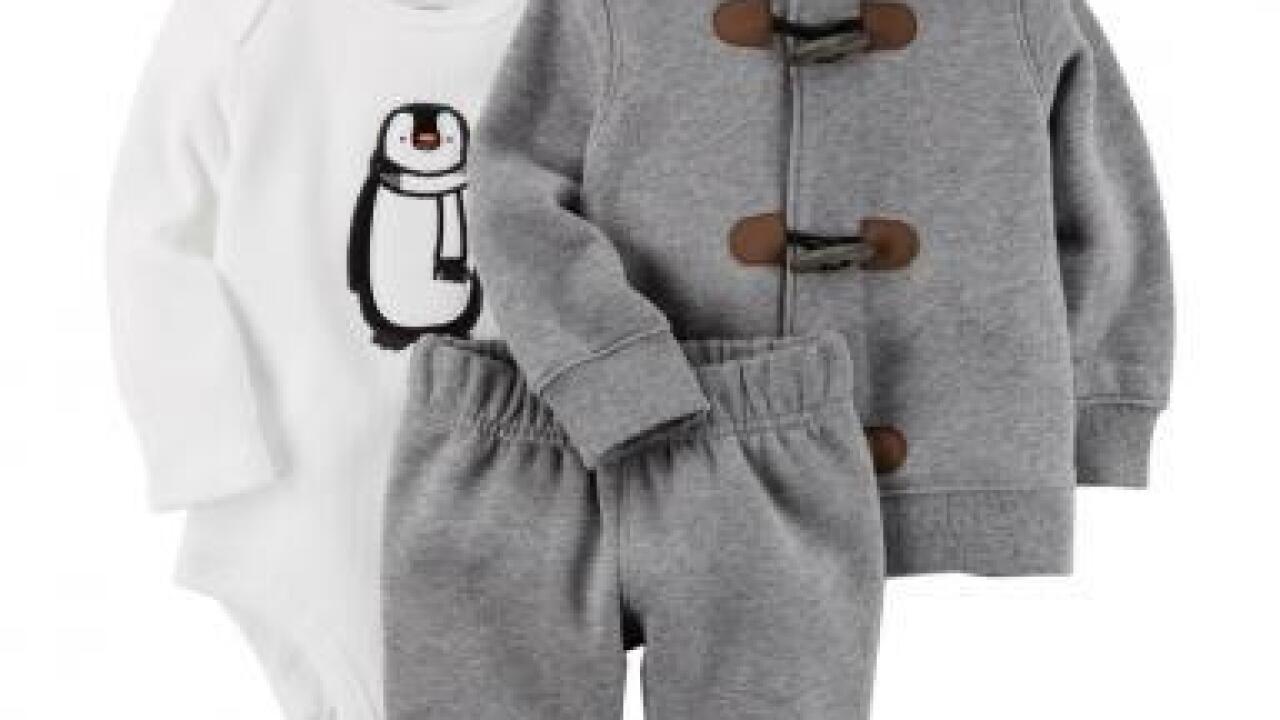 Baby cardigans recalled for choking hazard