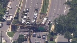 Bridge collapse DC