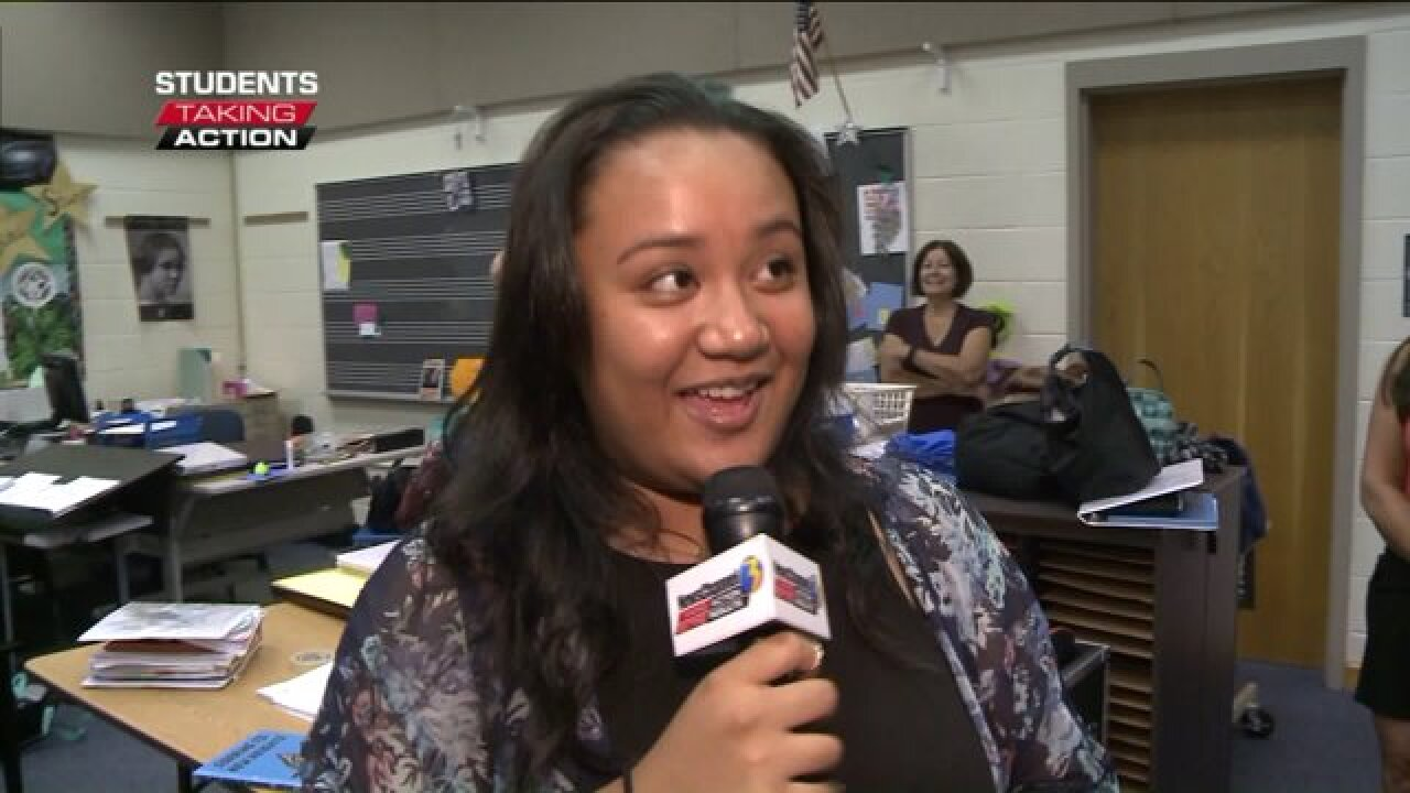 Students Taking Action: Salem Middle honor student leads and inspires herpeers