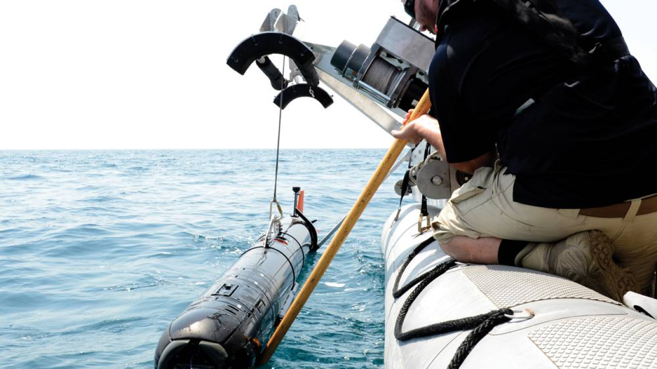 Sonar used in search and