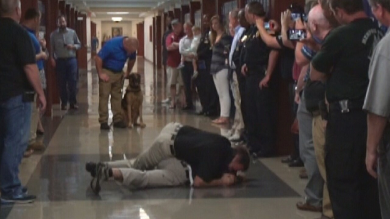 Active Shooter Training Includes Canines