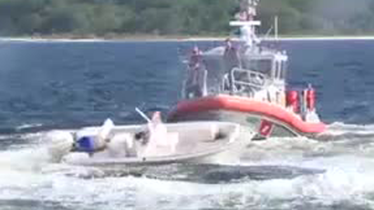 Coast Guard finds boat going in circles, operator tossed from vessel