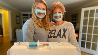 Kentucky college student makes coronavirus masks for the deaf and hard of hearing
