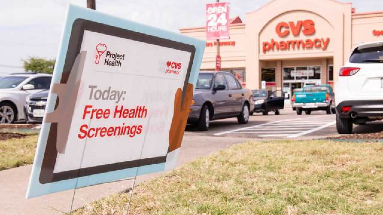 CVS offering free wellness screenings in Detroit