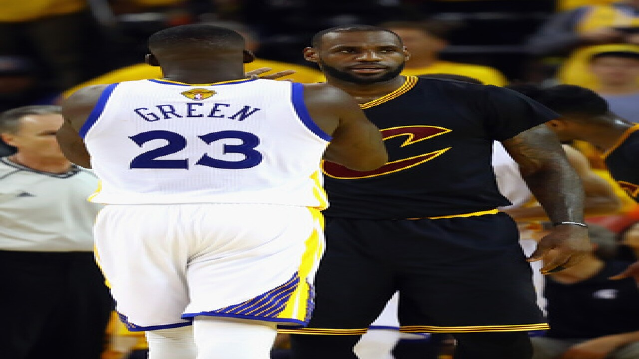 PHOTOS | Game 7 of the Cavaliers vs. Warriors