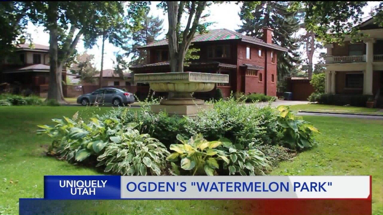Uniquely Utah: Ogden's 'Watermelon Park'