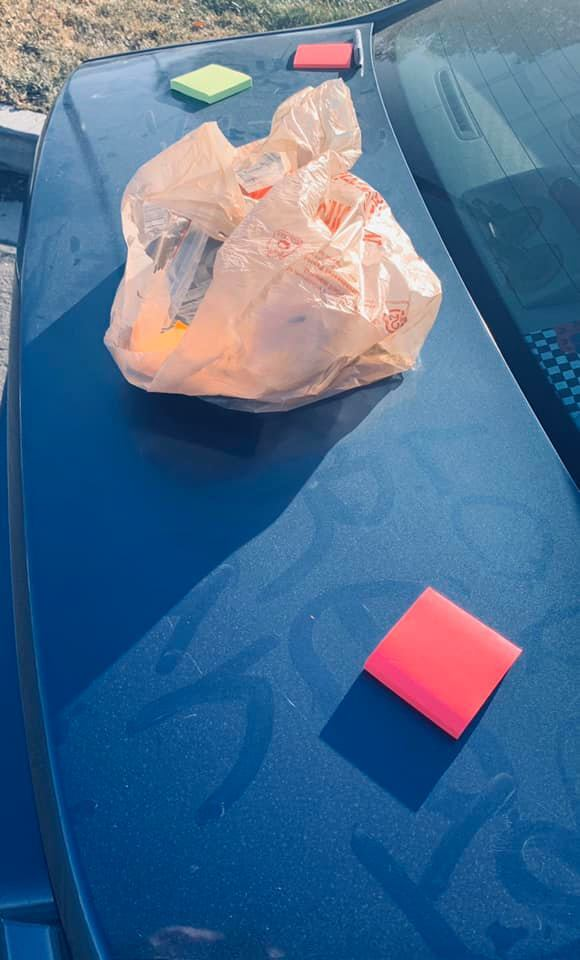 Photos: Sticky Notes help cheer Westlake High students after a pair of recent studentdeaths