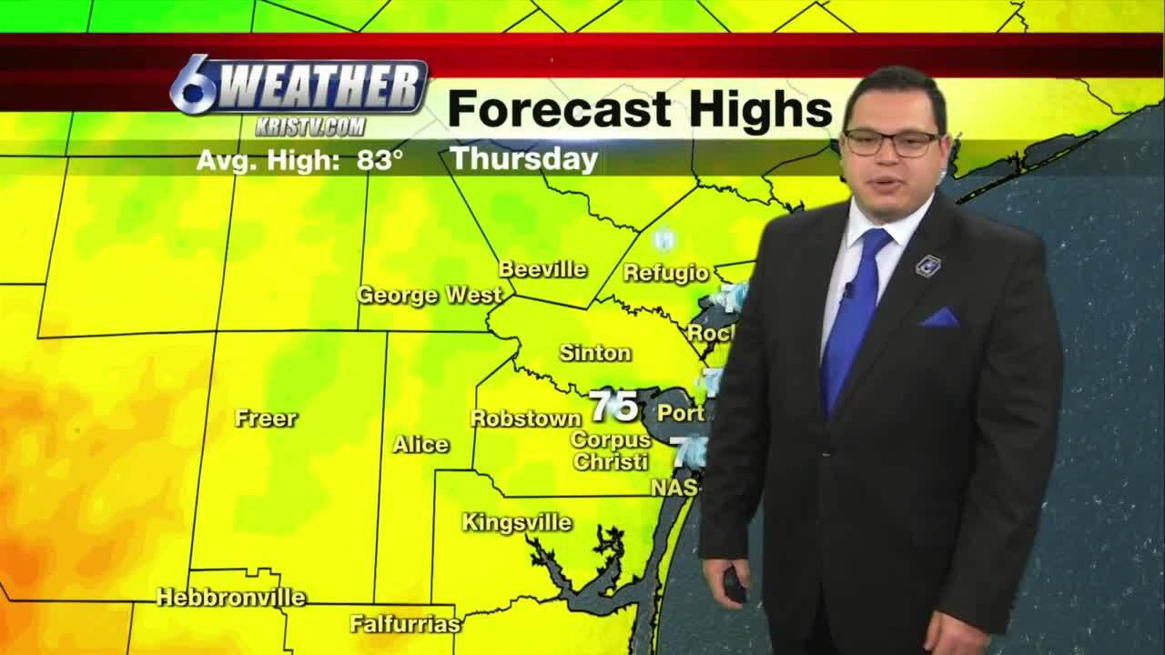 Juan Acuña's weather for April 22, 2021