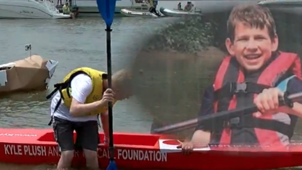 Kyle Plush memory lives on at cardboard regatta
