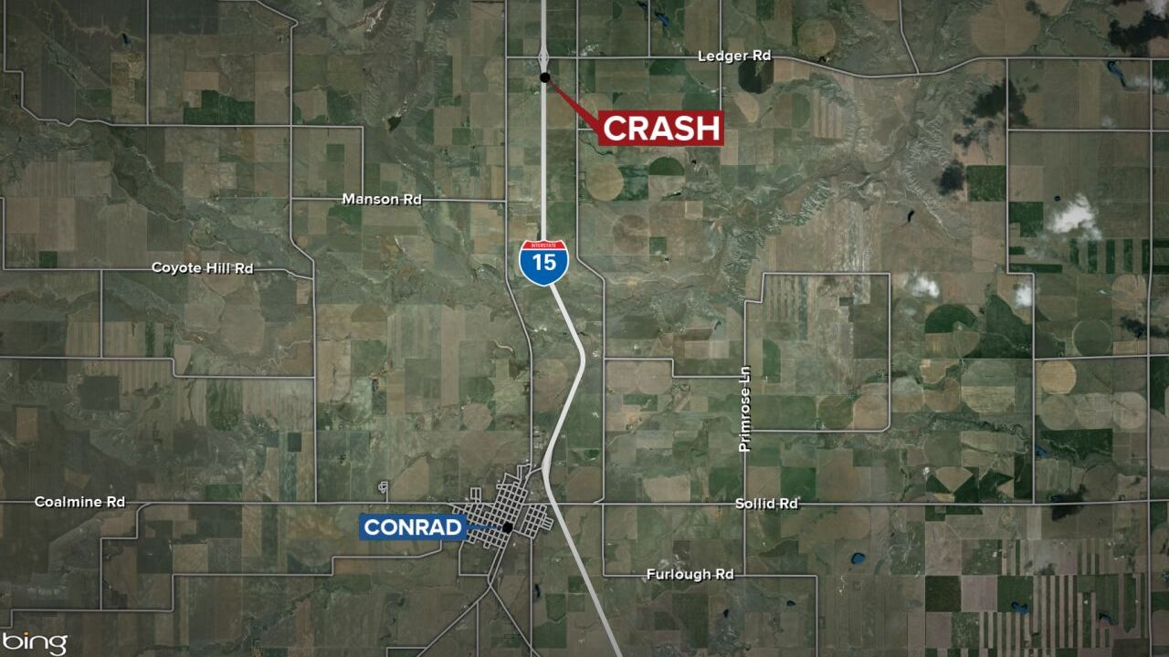 fatal crash near conrad may 3