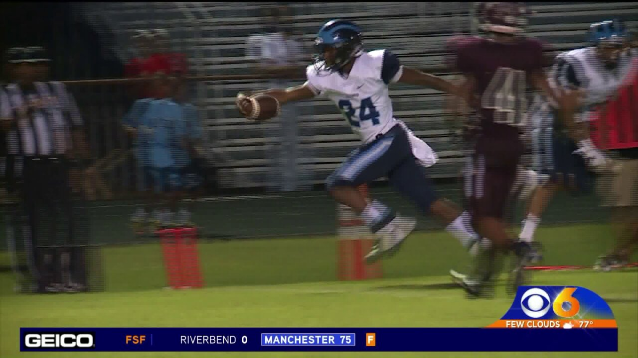 Payoute and Mason runs past Thomas Dale 33-20 in Battle of Chester