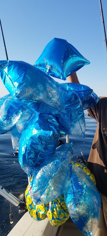 Balloon debris in Sheboygan