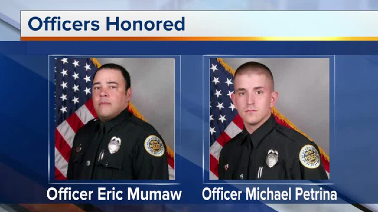 Metro Nashville Police Honor Fallen Officers