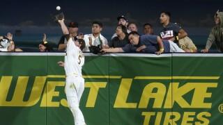 APTOPIX Giants Padres Baseball