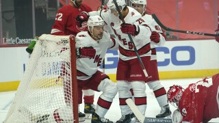Hurricanes Red Wings Hockey