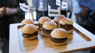 Impossible Foods Inc. burgers