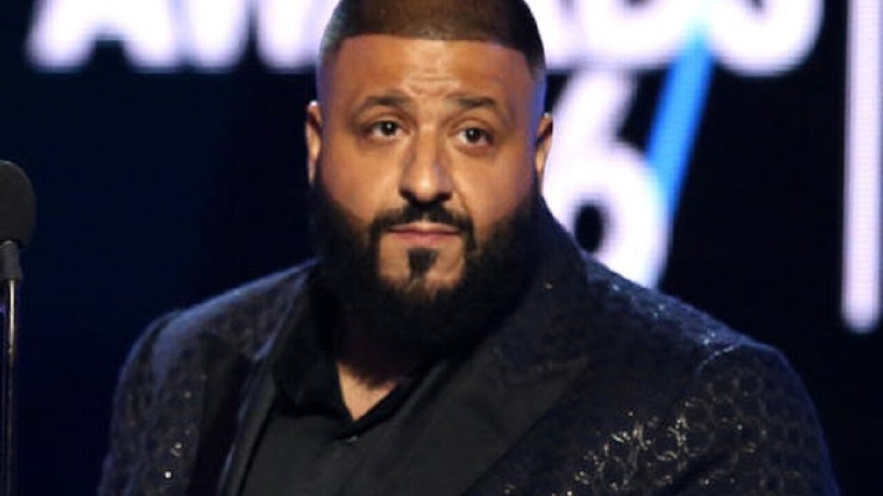 DJ Khaled and fiancée welcome new son via Snapchat
