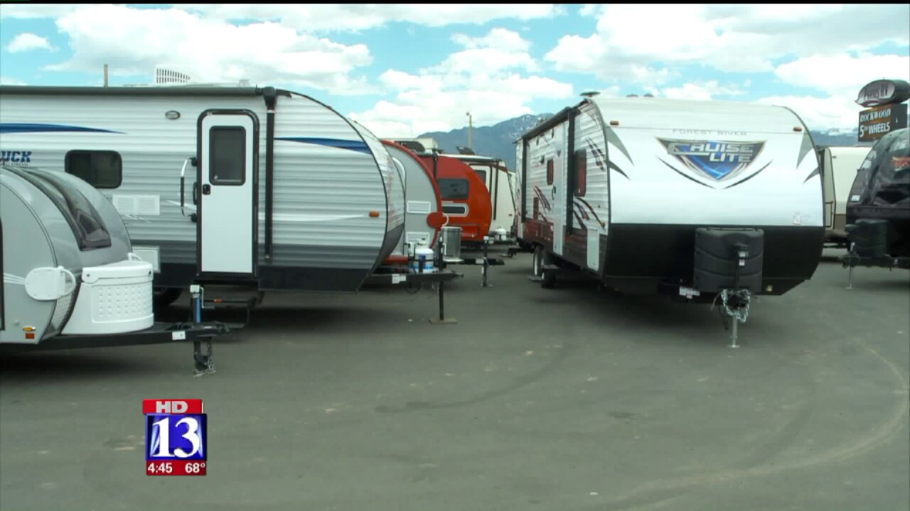 Booming Forward: RV business booms as seniors hit the road