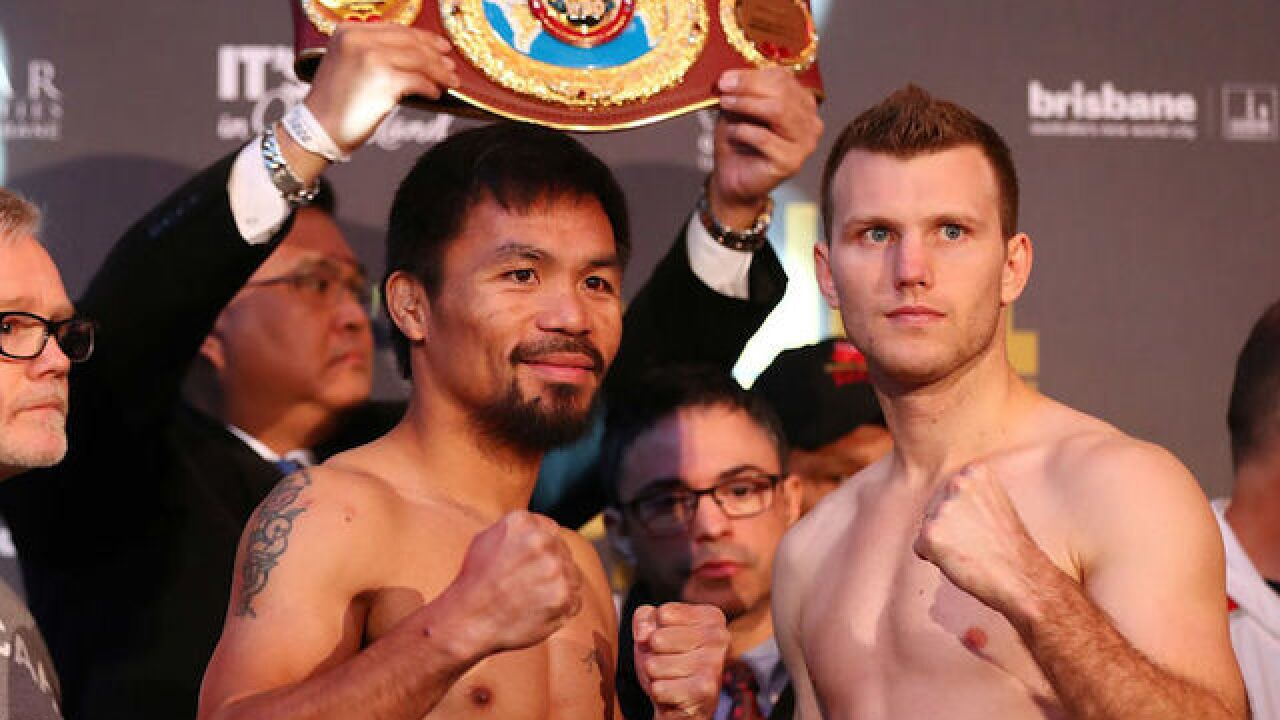 Horn defeats Pacquiao in controversial title match