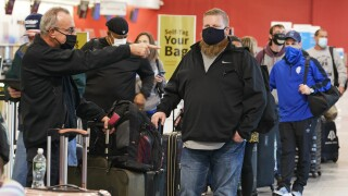 Virus Outbreak Holiday Travel Ohio