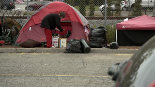 Police clear much of large homeless camp in Oceanside, offer motel vouchers