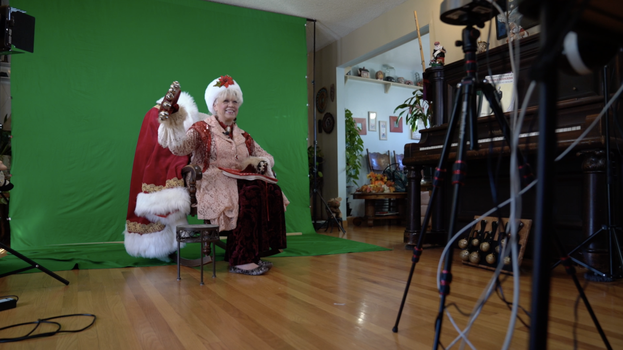 Visits with Santa Claus and his helpers are going virtual this year amid COVID-19 pandemic