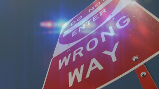 Wrong-way signs