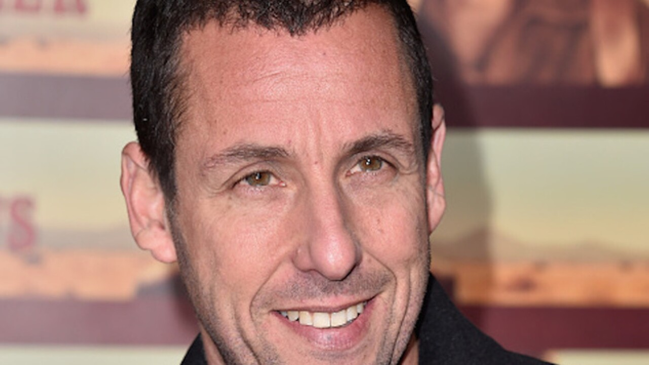 Sandler's new Netflix movie setting records