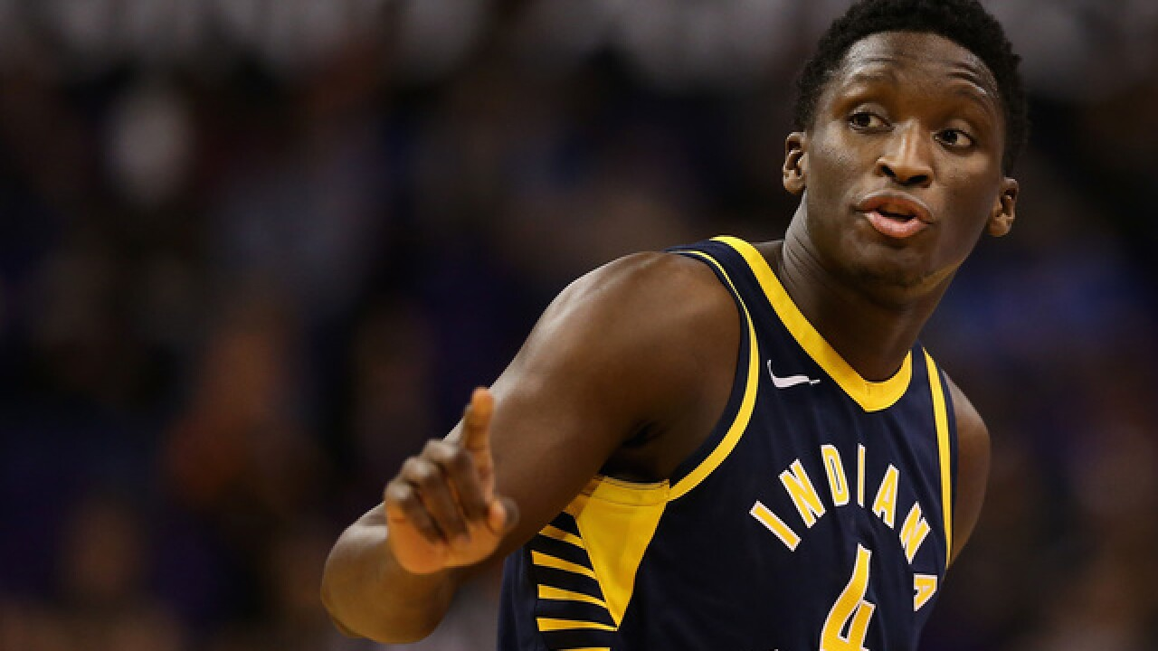 check out 2fb75 61105 Victor Oladipo posts first statement after Thursday's injury