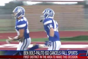 Ben Bolt-Palito Blanco ISD cancels fall sports seasons