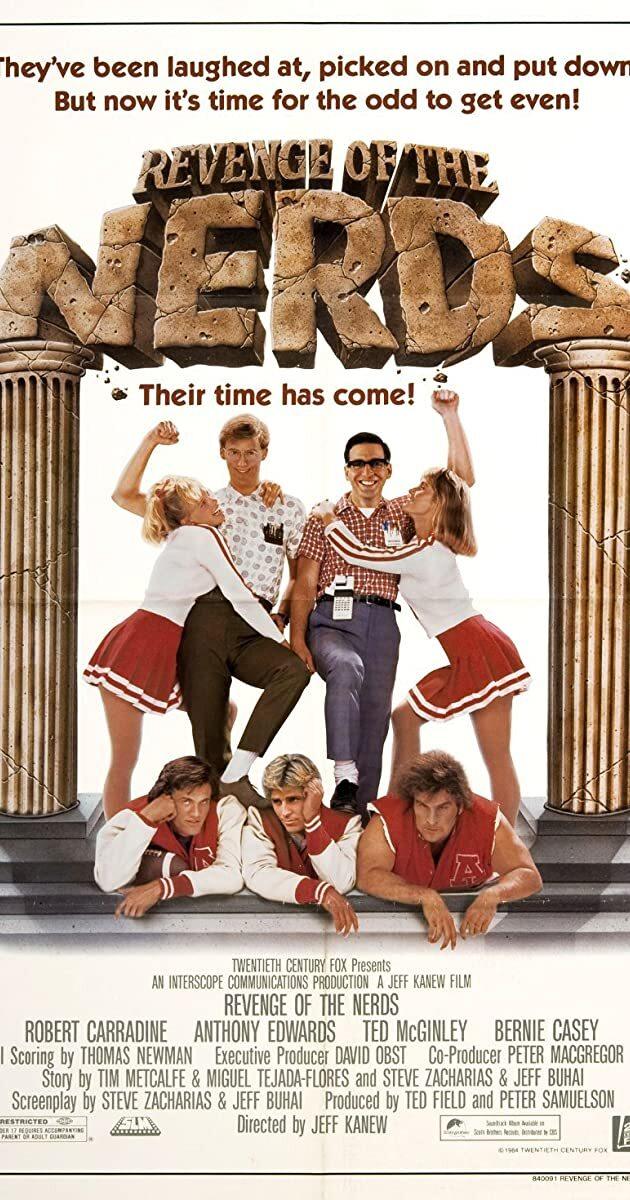 Revenge of the Nerds movie poster