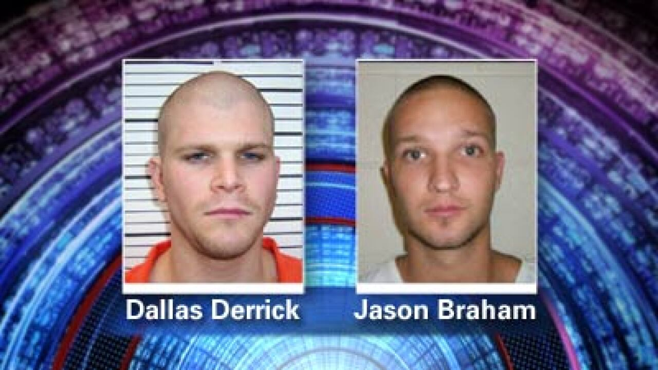 Police looking for 2 escaped Uintah Co. Jail inmates