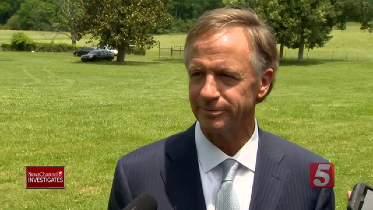Governor Haslam Defends Insurance Commissioner