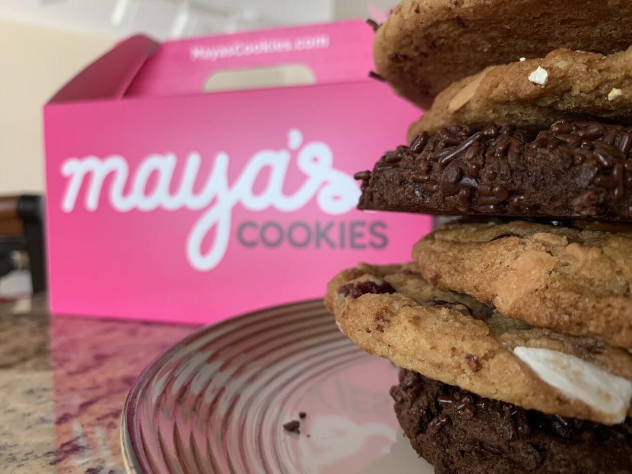 Maya's cookies to go