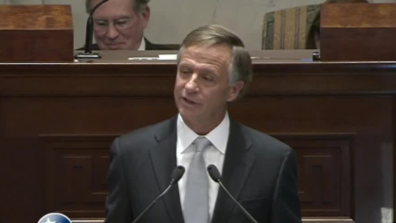 Gov. Haslam Gives State Of The State Address