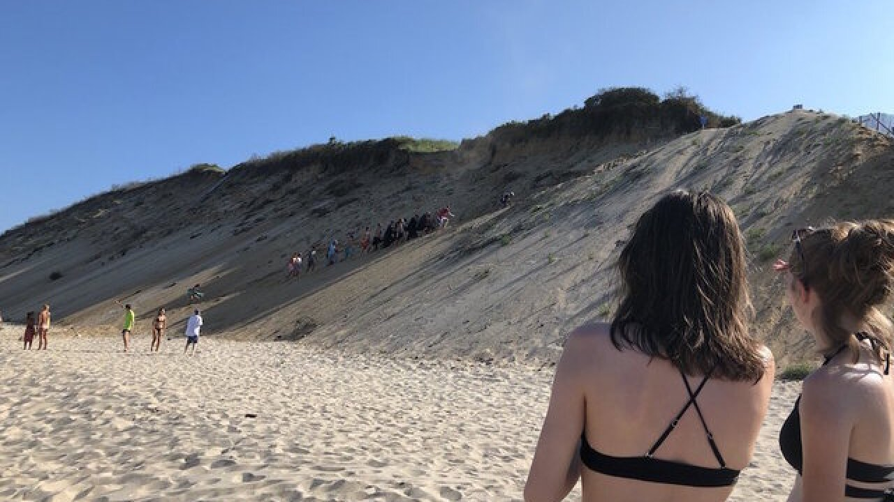 Shark attacks swimmer on Cape Cod