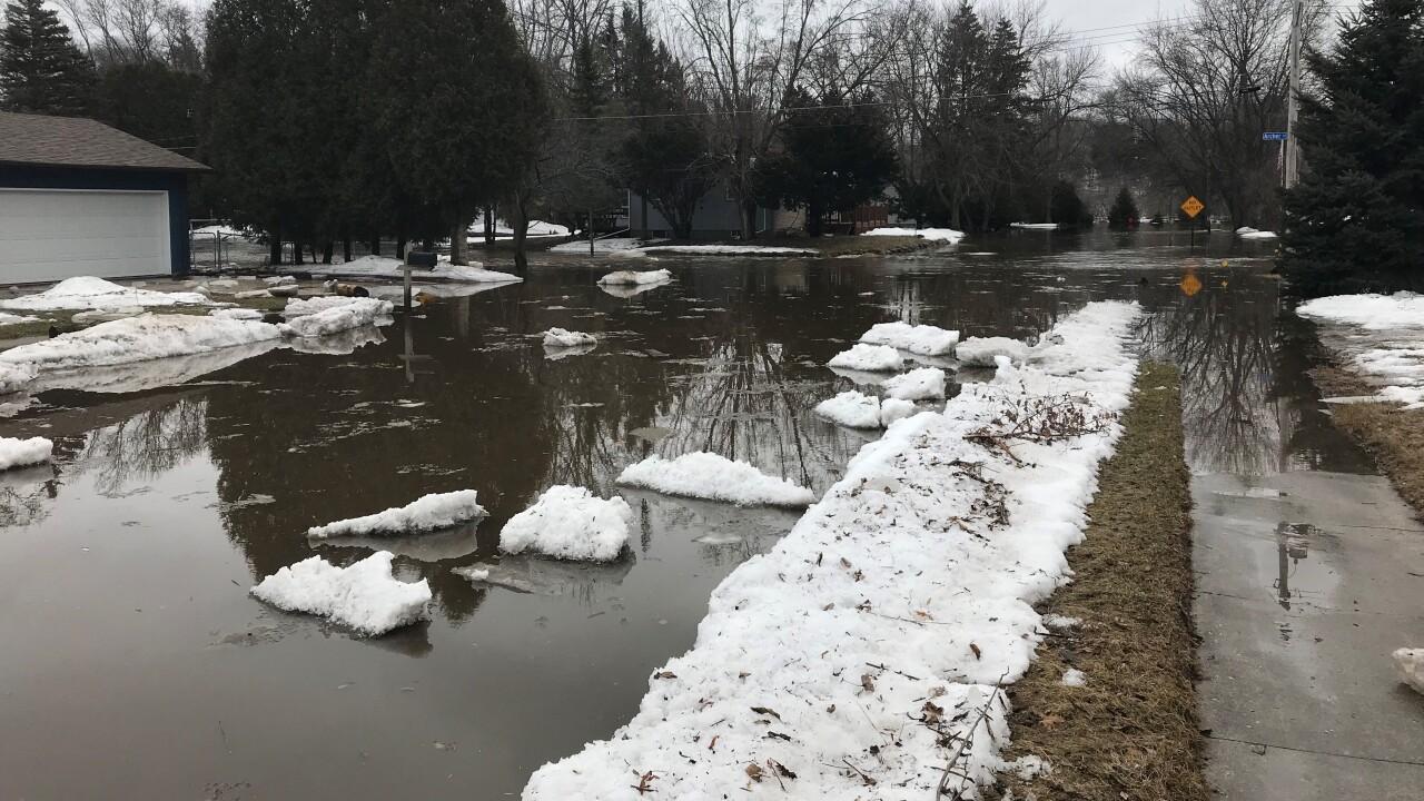 manitowoc flooding march 21 2019 Archer st.