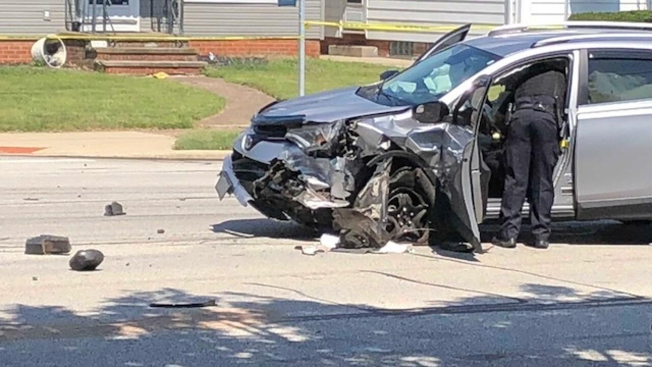 Parma officer-involved crash closes Snow Road