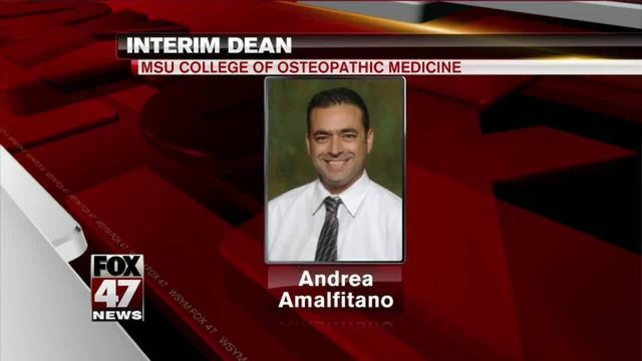 MSU names interim dean