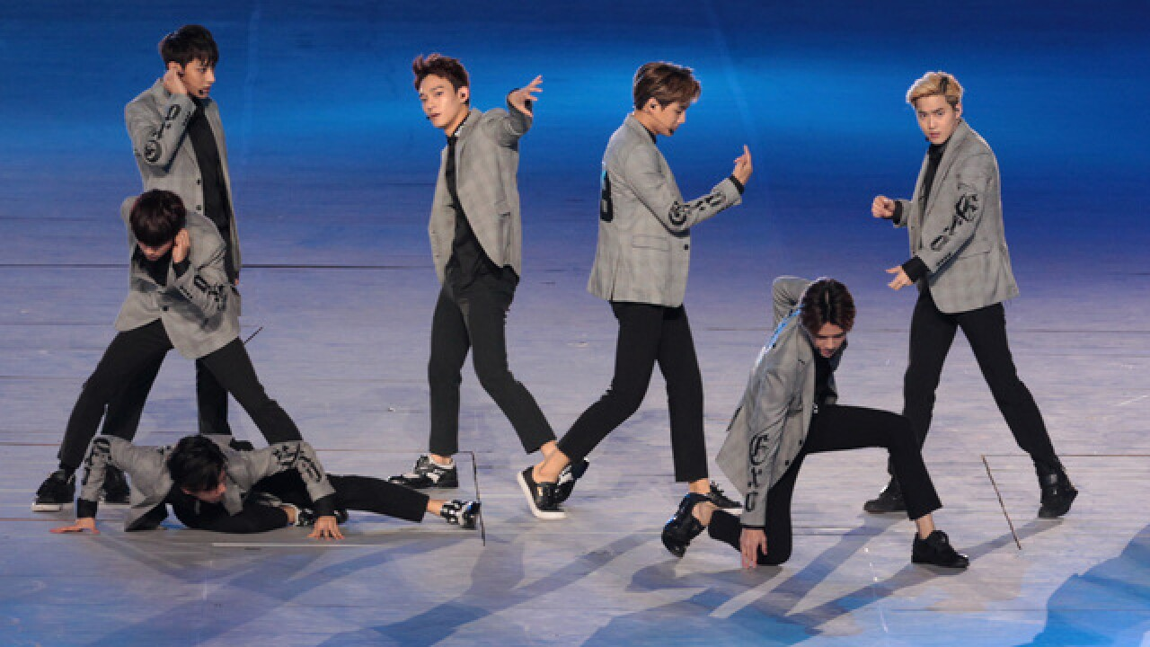K-pop band EXO to perform at Winter Olympics closing ceremonies