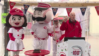 Reds opening day news conference
