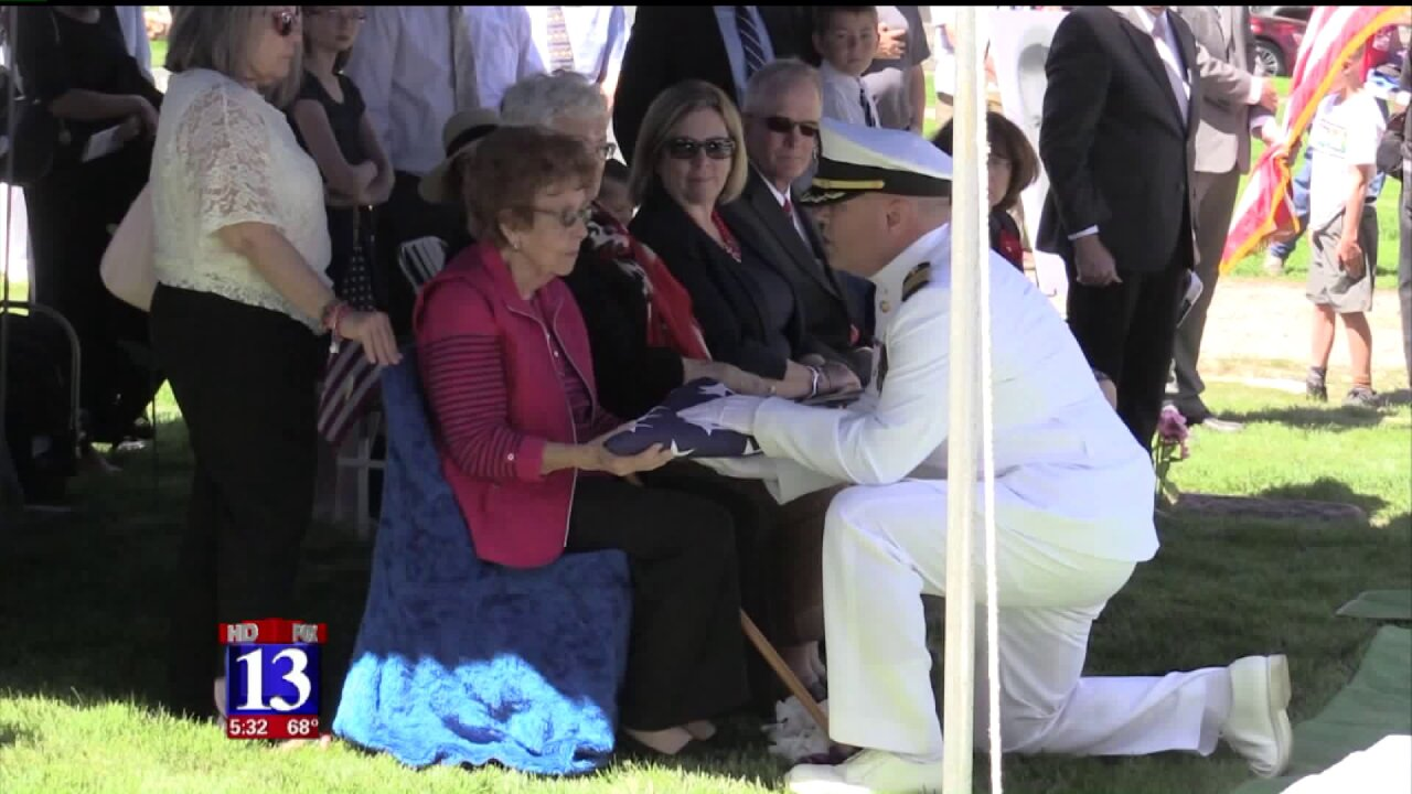 Hundreds gather to pay respects as Utahn killed in Pearl Harbor attack laid to rest